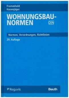 Wohnungsbau-Normen - Frommhold, Hanns; Hasenjäger, Siegfried