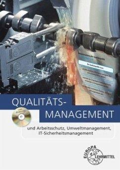 Qualitätsmanagement, m. CD-ROM - Fischer, Georg; Kaufmann, Hans; Kirchner, Arndt; Schmid, Dietmar