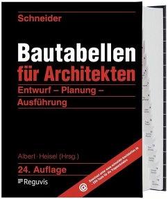 Schneider - Bautabellen für Architekten - Schneider, Klaus-Jürgen; Rjasanowa, Kerstin