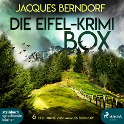 Die Eifel-Krimi-Box (6 Eifel-Krimis von Jacques Berndorf) (MP3-Download) - Berndorf, Jacques