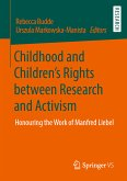 Childhood and Children's Rights between Research and Activism (eBook, PDF)