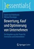 Bewertung, Kauf und Optimierung von Unternehmen (eBook, PDF)