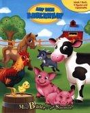 Auf dem Bauernhof, Spielbuch + 8-10 Spielfiguren + Spielmatte
