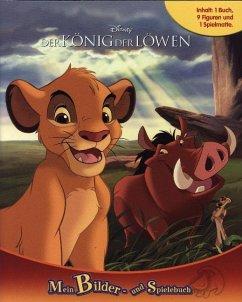 König der Löwen, Spielbuch + 8-10 Spielfiguren + Spielmatte