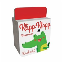 Klipp-Klapp-Klapperbuch - Krokodil, m. Soundeffekten (Mängelexemplar)