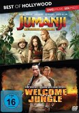 Jumanji - Willkommen im Dschungel & Welcome to the Jungle Best of Hollywood - 2 Movie Collectors Pack