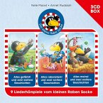 Der Kleine Rabe Socke-3-CD Hörspielbox Vol.2