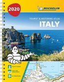 Italy - Tourist and Motoring Atlas 2020 (A4-Spiral)