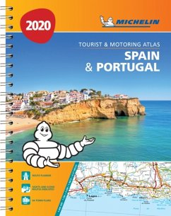 Spain & Portugal 2020 - Tourist and Motoring Atlas (A4-Spiral)