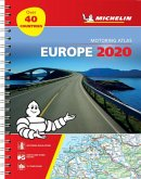 Europe 2020 - Tourist and Motoring Atlas (A4-Spiral)