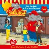 Benjamin Blümchen - Folge 144: Der Zuckerstückchen-Express (MP3-Download)
