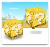 Super Mario Question Block Gläser