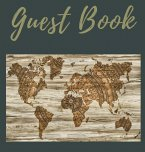 Guest Book with lined pages (Hardcover): Guest book, air bnb book, visitors book, holiday home, comments book, holiday cottage, rental, vacation guest