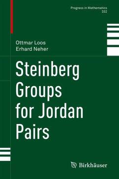 Steinberg Groups for Jordan Pairs (eBook, PDF) - Loos, Ottmar; Neher, Erhard
