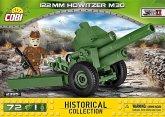 COBI 2395 - Historical Collection,122 mm Howitzer wz.1938 M-30, Fahrzeug, Konstruktionsspielzeug, 72 Teile