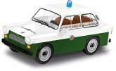COBI 24520 - Youngtimer Collection, Trabant 601, Volkspolizei, Bausatz, Konstruktionsspielzeug, 75 Teile, 1:35