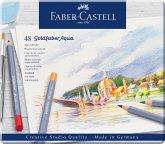 Faber-Castell Aquarellstifte Goldfaber Aqua, 48er Set Metalletui