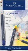 Faber-Castell Farbstifte Goldfaber, 12er Set Metalletui