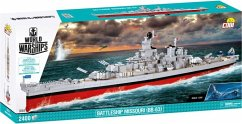 COBI World of Warships 3084 - Battleship Missouri BB-63, 2400 Teile
