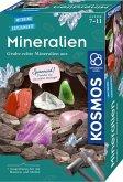 KOSMOS 657901 - Mineralien, Ausgrabungs-Set, Experimentierkasten, Mitbring-Experimente