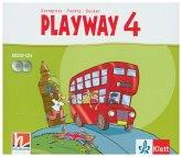 Playway 4. Ab Klasse 3, Audio-CD / Playway, ab Klasse 3. Ausgabe BW, NI, SH, HB, HE, BE, BB, MV, ST, TH ab 2020