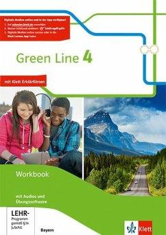 Green Line 4. Ausgabe Bayern. Workbook mit Audio-CD und Übungssoftware 8. Klasse