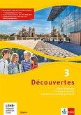 Découvertes 3. Ausgabe Bayern. Cahier d'activités mit MP3-CD, Video-DVD und Vokabeltrainer 3. Lernjahr