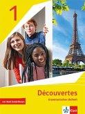 Découvertes 1. Ausgabe 1. oder 2. Fremdsprache. Grammatisches Beiheft mit Erklärfilmen 1. Lernjahr