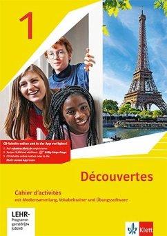 Découvertes 1. Ausgabe 1. oder 2. Fremdsprache. Cahier d'activités mit Mediensammlung und Vokabeltrainer 1. Lernjahr