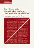 Musicalisches Lexicon oder Musicalische Bibliothec (eBook, PDF)