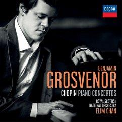 Chopin Piano Concerts - Grosvenor/Chan/Royal Scottish National Orchestra