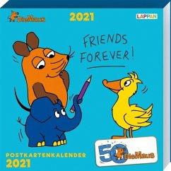 Die Maus - Postkartenkalender 2021 - Diverse