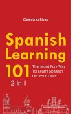 Spanish Learning 101 2 In 1