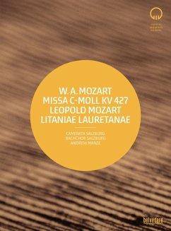 Missa C-Moll Kv 427/Litaniae Lauretanae - Manze,Andrew/Camerata Salzburg/Bachchor Salzburg