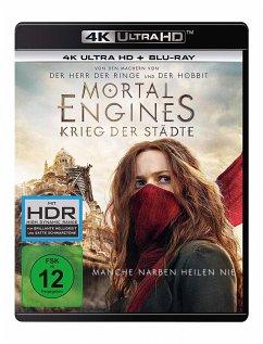 Mortal Engines: Krieg der Städte - 2 Disc Bluray - Hugo Weaving,Hera Hilmar,Robert Sheehan