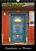 Haustüren in Prerow (Wandkalender 2021 DIN A4 hoch)