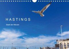 HASTINGS - Stadt der Möwen (Wandkalender 2021 DIN A4 quer)