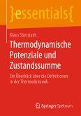 Thermodynamische Potenziale und Zustandssumme (eBook, PDF)