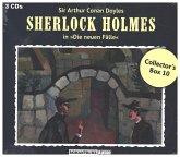 Sherlock Holmes, Die Neuen Fälle, Collector's Box, 3 Audio-CD