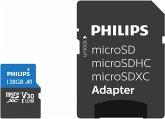 Philips MicroSDXC Card 128GB Class 10 UHS-I U3 incl. Adapter