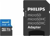 Philips MicroSDHC Card 32GB Class 10 UHS-I U3 incl. Adapter