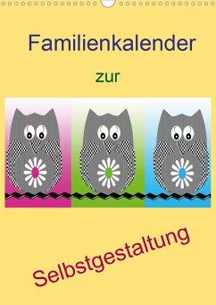 Familienkalender zur Selbstgestaltung (Wandkalender 2021 DIN A3 hoch)