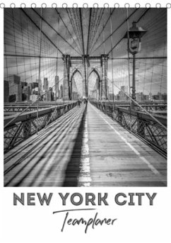 NEW YORK CITY Teamplaner (Tischkalender 2021 DIN A5 hoch)