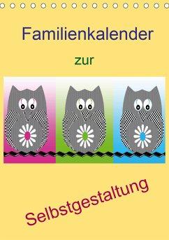 Familienkalender zur Selbstgestaltung (Tischkalender 2021 DIN A5 hoch)