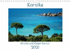 Korsika 2021 (Wandkalender 2021 DIN A4 quer)