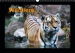 Wildtiere (Wandkalender 2021 DIN A3 quer)