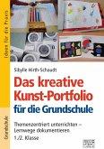Das kreative Kunst-Portfolio für die Grundschule - 1,/2. Klasse
