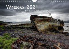 Wracks 2021 (Wandkalender 2021 DIN A4 quer)