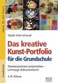 Das kreative Kunst-Portfolio für die Grundschule - 3./4. Klasse