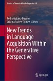 New Trends in Language Acquisition Within the Generative Perspective (eBook, PDF)